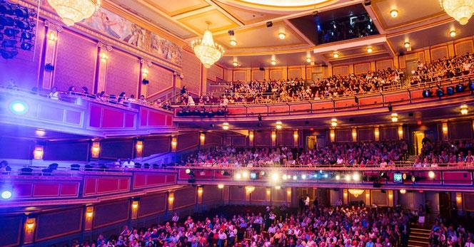 L'intérieur de la salle du Lyric Theater qui accueillera la pièce en 2018