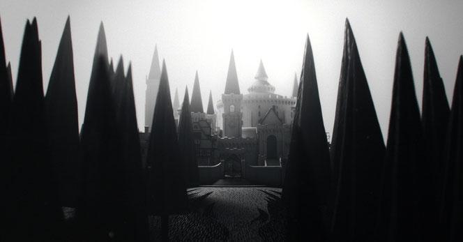 Façade de l'école de sorcellerie d'Ilvermorny
