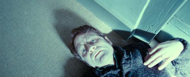 James Potter meurt en tentant de sauver son enfant (Harry Potter et les reliques de la mort - Partie 2 - 2011)
