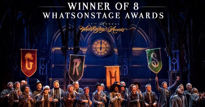 Jamie Parker a remporté le prix du meilleur acteur pour une pièce (@HPPlayLDN - 2017)
