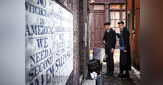 Credence (Ezra Miller) et Percival Graves (Colin Farrell)