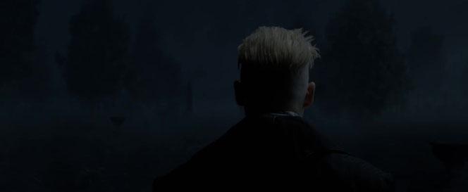 """Grindelwald fera une courte apparition au début du premier film des """"Animaux Fantastiques"""". Un premier aperçu de dos été révélé dans un clip promotionnel..."""