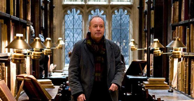 """David Yates lors du tournage de """"Harry Potter et le Prince de Sang-Mêlé"""" (2009)"""