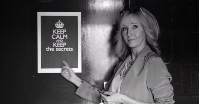 """JK Rowling demande aux fans de """"garder leur calme et de garder le secret"""""""