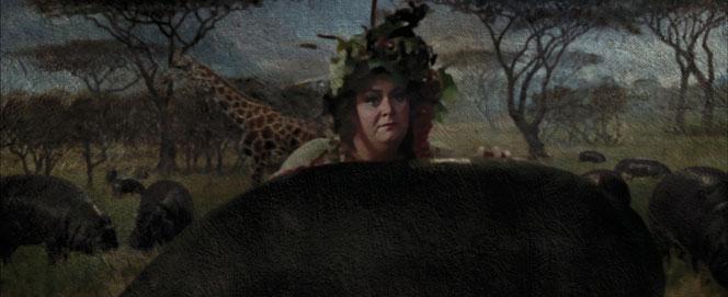 Dans le film, c'est la Grosse dame qui annonce à Dumbledore ce qui s'est passé. (Harry Potter et le Prisonnier d'Azkaban - 2004)