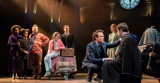 Le nouveau casting de la pièce sur les planches du Palace Theatre (2017)