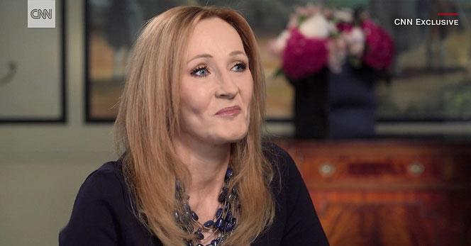 JK Rowling a été interviewée par Christiane Amanpour pour CNN (10/07/2017)