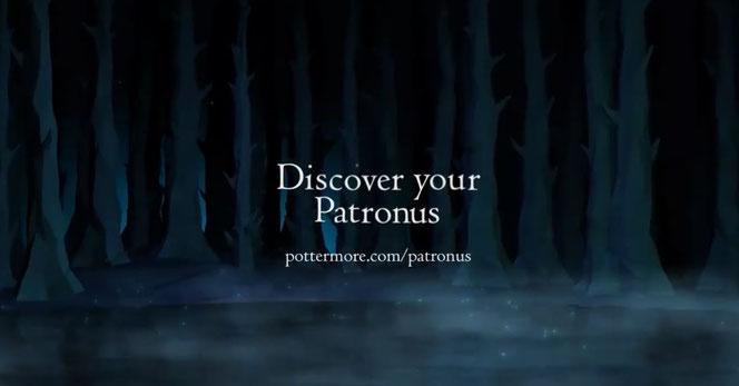 Capture d'écran de la vidéo de présentation de Pottermore