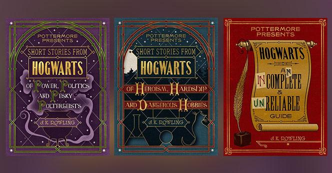 3 e-books vont être publiés par Pottermore