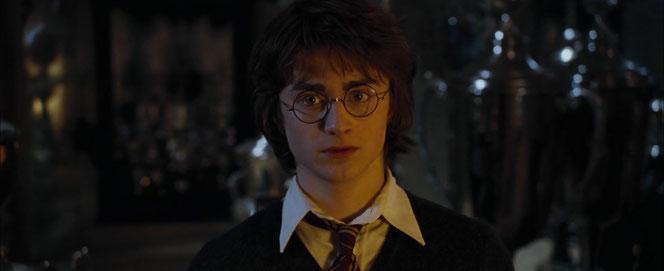 Harry, encore sous le choc. (Harry Potter et la Coupe de Feu - 2005)