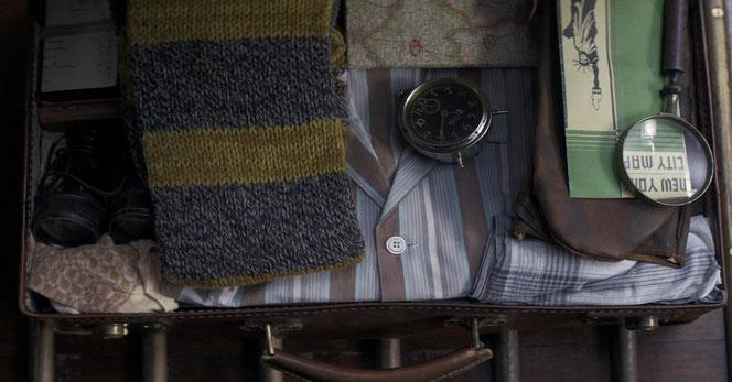 """Intérieur de la """"version moldue"""" de la valise de Norbert (Les Animaux Fantastiques)"""