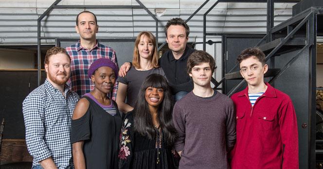 """Photo du nouveau casting de la pièce """"Harry Potter et l'Enfant Maudit"""" (@Pottermore)"""