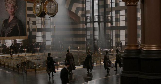 Le hall du MACUSA (Les Animaux Fantastiques - 2016)