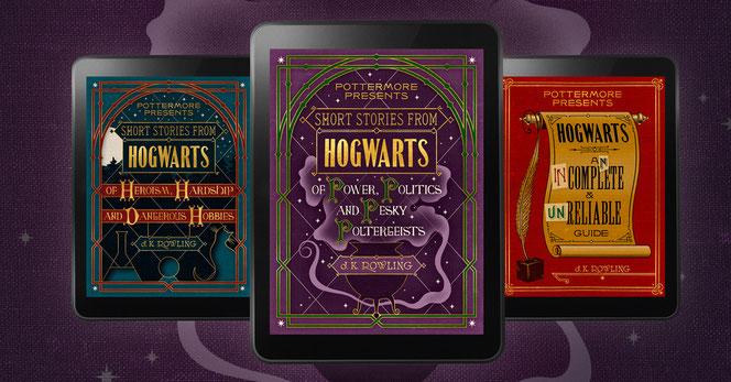 """Les e-books """"Histoires courtes de Poudlard"""" sortiront le 6 septembre prochain"""
