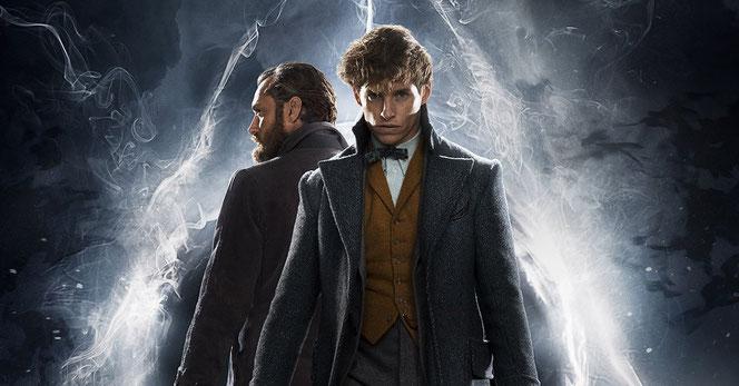 Dumbledore et Norbert Dragonneau réunis sur une même affiche !