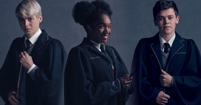 Scorpius, Rose et Albus, la nouvelle génération (@Pottermore)