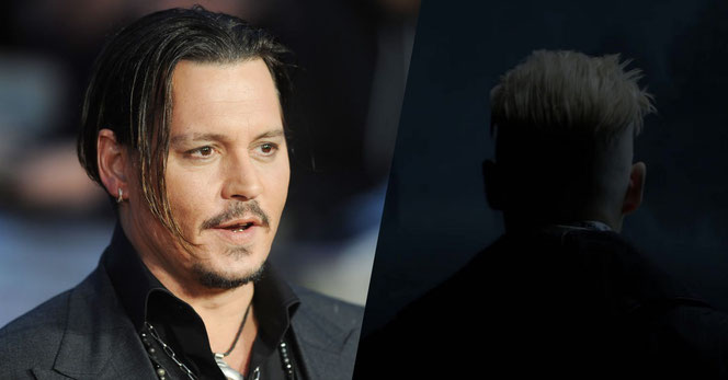 Johnny Depp au Festival du film à Londres en 2015 (@KCS) - Un aperçu de Grindelwald (Les Animaux Fantastiques - 2016)