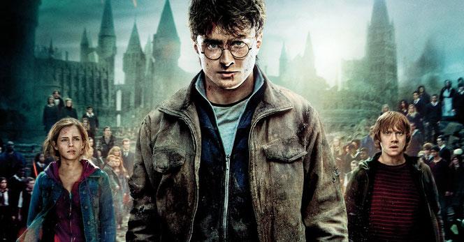 """Affiche de """"Harry Potter et les reliques de la mort - Partie 2"""""""