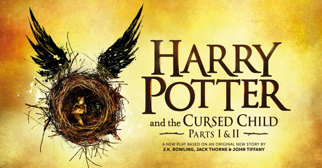 "Logo officiel de la pièce ""The Cursed Child"""