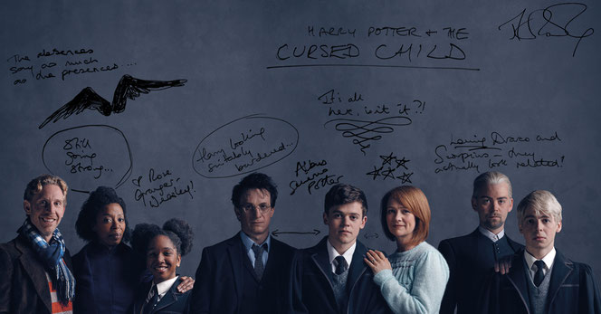 """Le premier casting de la pièce """"Harry Potter et l'Enfant Maudit"""" à Londres"""