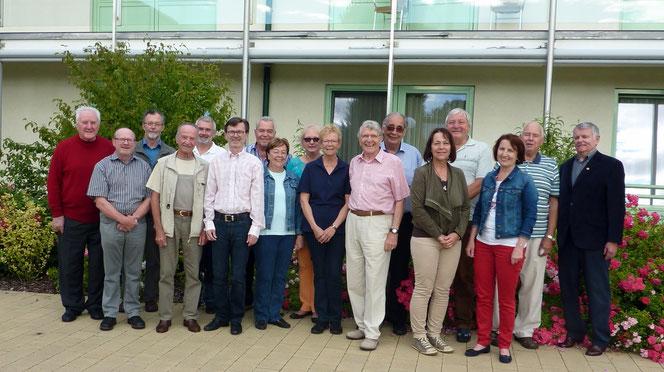 Vorstandsmitglieder des Hospizvereines Wiener Neustadt: