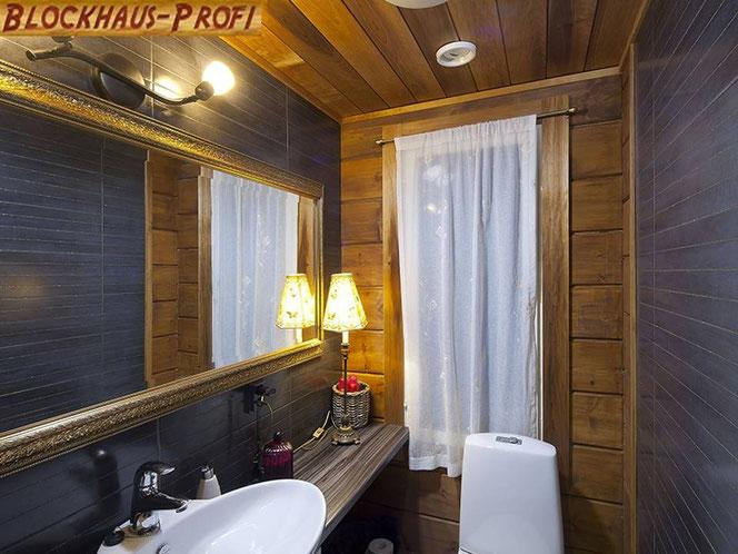 Gäste-WC im Wohnblockhaus