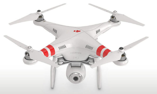 Phantom 2 Vision - popular quadrocopter with the camera manufactured by Dji.