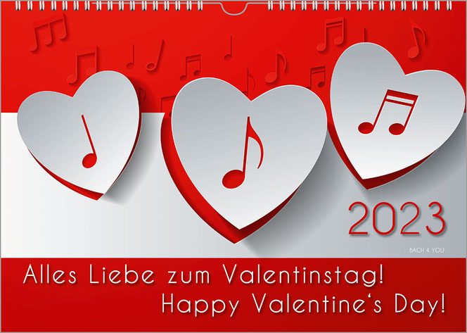Valentine S Day Wall Calendar A Special Gift For Valentine S Day