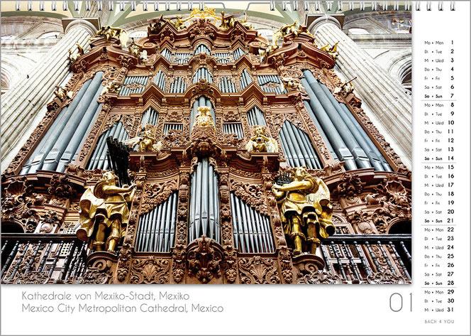 Pipe Organ Calendar USA - Pipe Organ Calendar EU - Bach 4 You