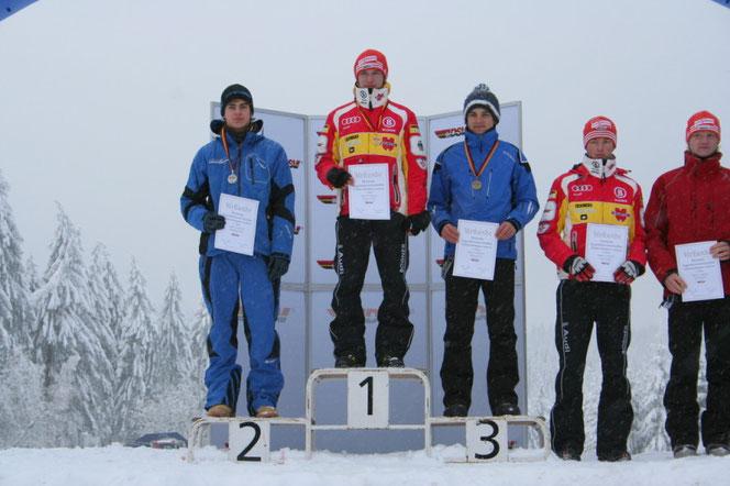 Stoib Benedikt 2.Platz Deutsche Jugendmeisterschaften-NK 2010 in Lauchau-Thüringen
