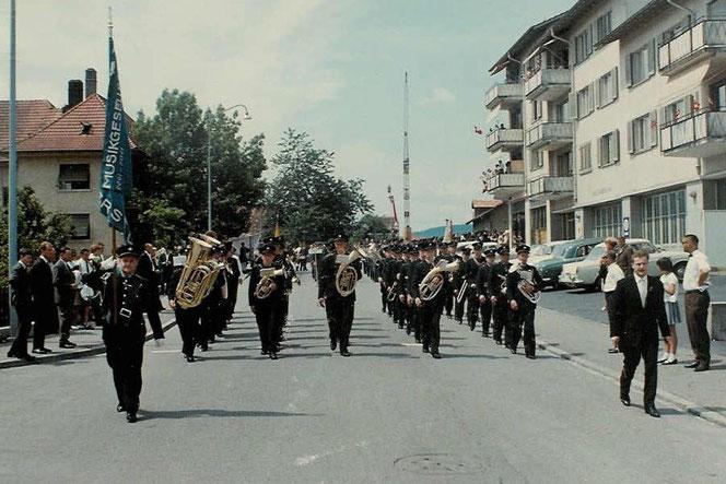 Eidgenössisches Musikfest Aarau 1966