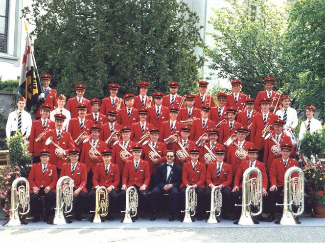 Kantonales Musikfest 1990 in Schüpfheim