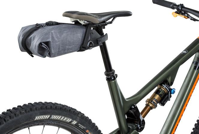 Seatpack, Satteltasche, Bikepacking, biketour