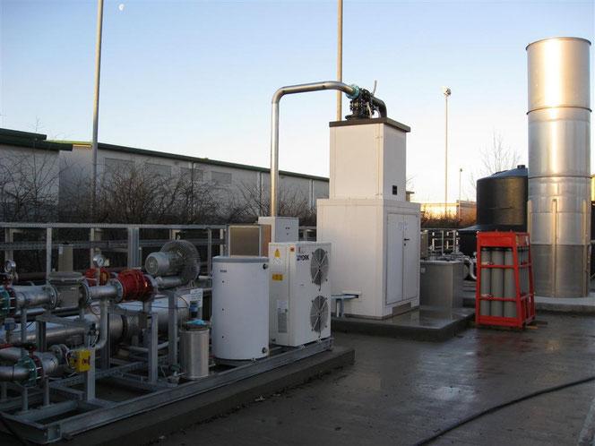 Siloxanenverwijdering uit biogas GtS