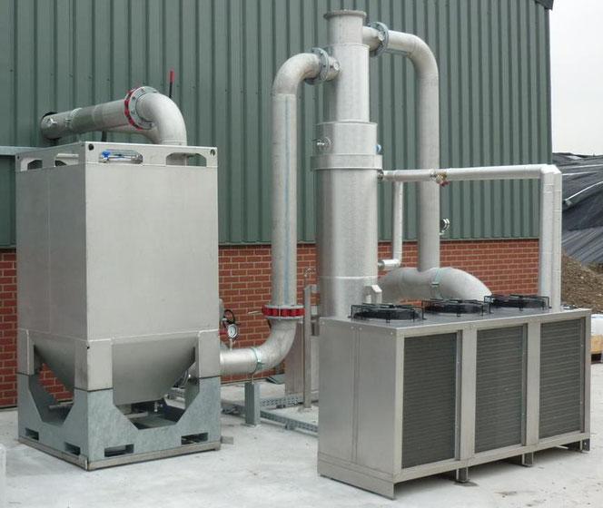 H2S verwijdering uit biogas GtS