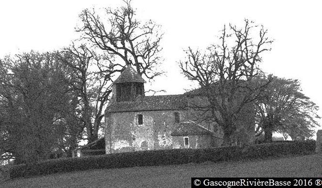 Eglise romane de Coutens à Beaumarchès Rivière-Basse 12ème siècle XII