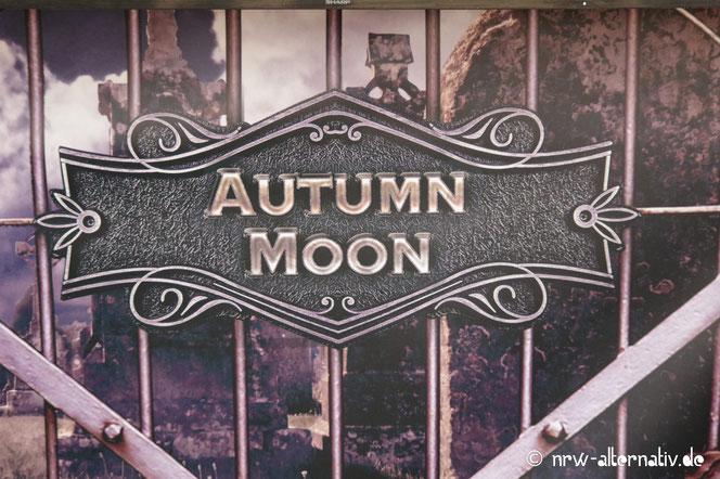 Autumn Moon Schild in der Moon Stage 2018