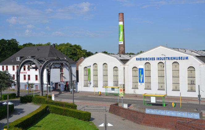 Direkt am Oberhausener Hauptbahnhof wartet die Außenansicht der historischen Zinkfabrik Altenberg des LVR-Industriemuseums.
