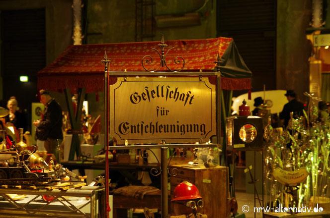 Steampunk-Jahrmarkt Bochum Jahrhunderthalle