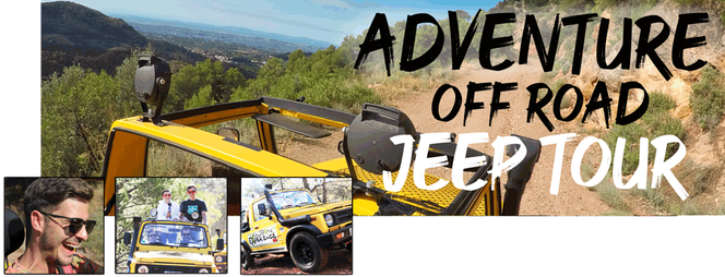 Mountain Jeep  Adventure in Calderona National Park Valencia. Guided Tour Visiting Castell de Serra during Off road adventure in Valencia with jeepsVisiting Castell de Serra during Off road adventure in Valencia with jeeps Jeep tour in Valencia visiting C
