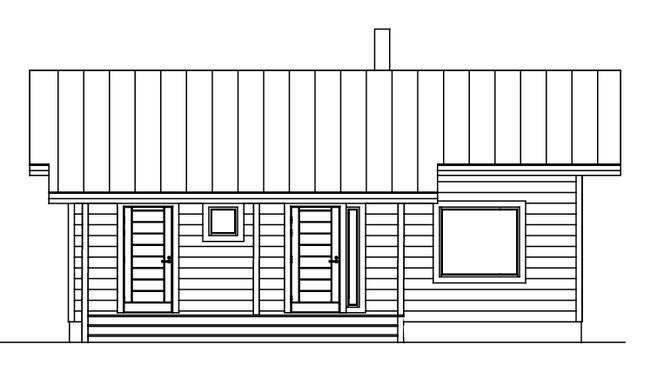 Kleines Holzhaus - Individuelle Planung - Architekt - Blockhaus - Hausentwurf - Einfamilienhaus - Wohnhaus - Bungalow - Neubau - Musterhaus - Singlehaus - Niedersachsen - Holzminden - Hameln - Hannover - Höxter - Minihaus - Hildesheim - Bielefeld -  Holz