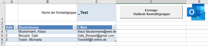 Screenshot Excel-Tabellenblatt