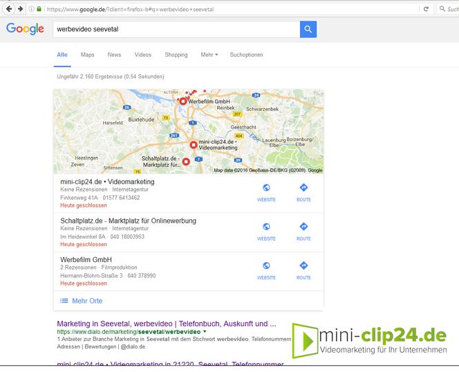 mini-clip24.de • Videomarketing - SEO