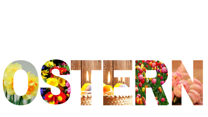 Ostereier Kerzen