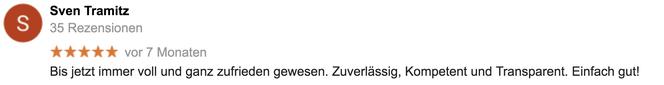 Google-Referenz Sven Tramitz