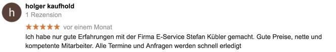 Google-Referenz Holger Kaufhold