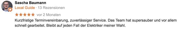 Google-Referenz Sascha Baumann