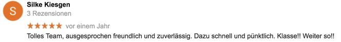Google-Referenz Silke Kiesgen