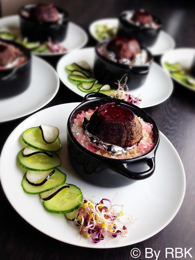 Cuisine healthy, légumes mis en avant pour une entrée alliant légèreté et modernité