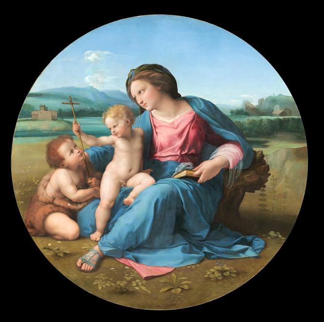 Madonna d' Alba   di Raffaello